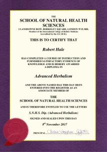 Advanced Herbalism