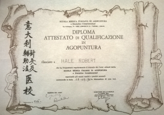Diploma Acupuncture